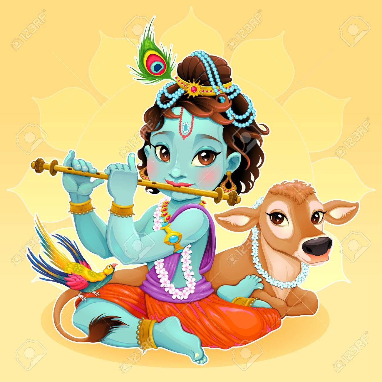 Krishna Art Stock Photos. Royalty Free Krishna Art Images