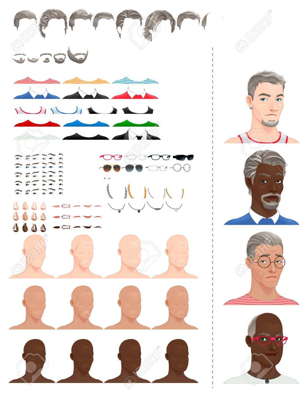 Как подобрать прическу к форме головы для мужчины