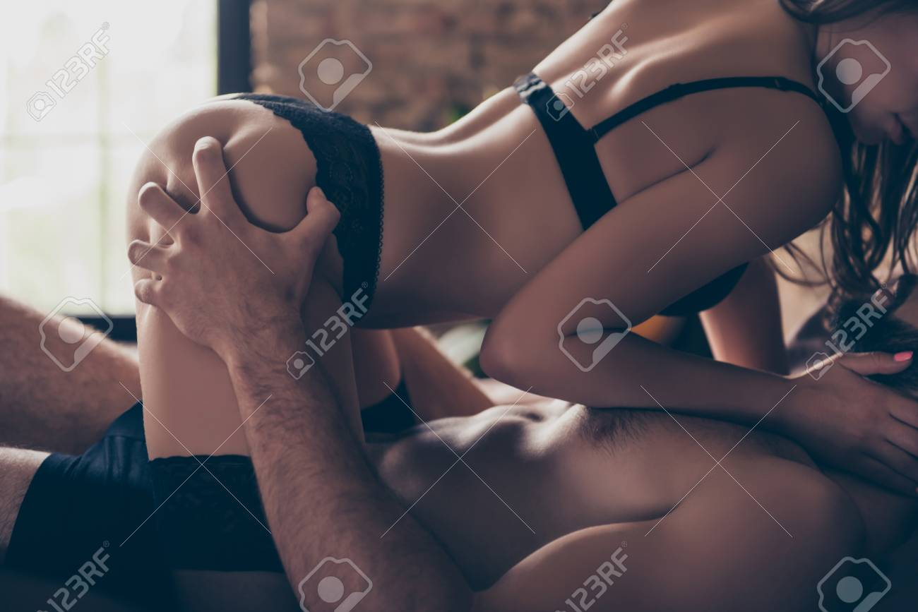 Naughty partners have sex