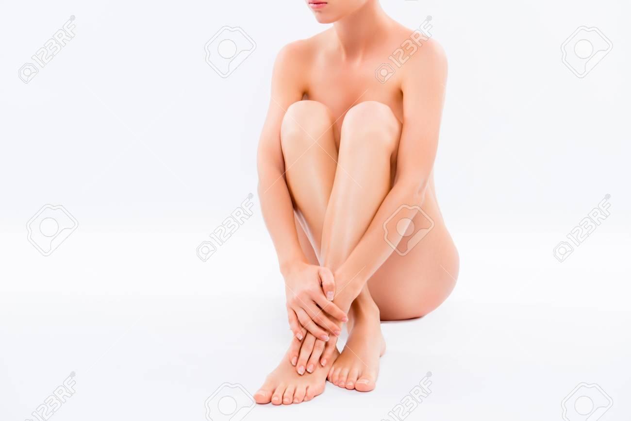 Naked girls in swimming pool