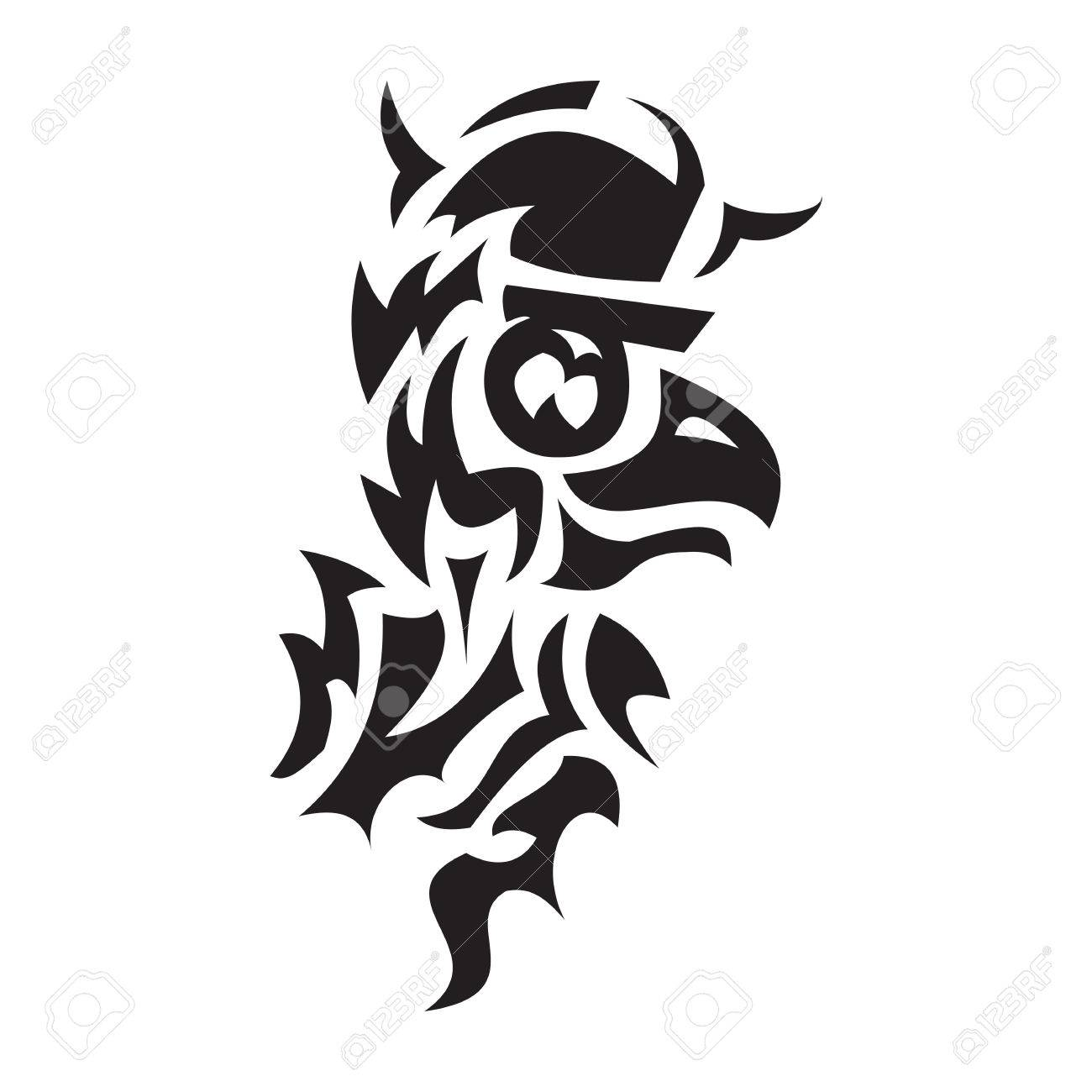 Tattoo of bird viking turned to the right royalty free cliparts tattoo of bird viking turned to the right stock vector 34918567 biocorpaavc