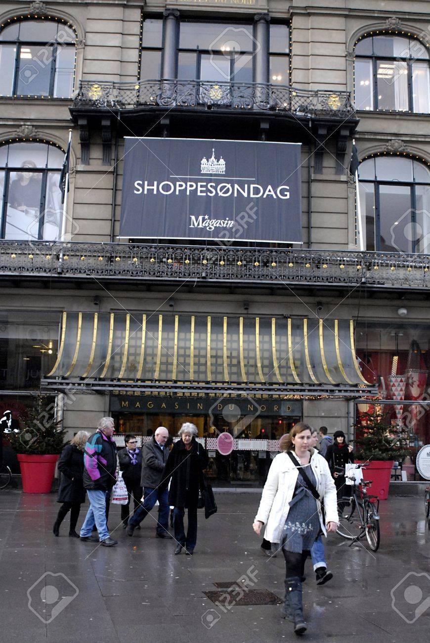 DENMARK / COPENHAGEN . Magasin Du Nord Department Store Open ...