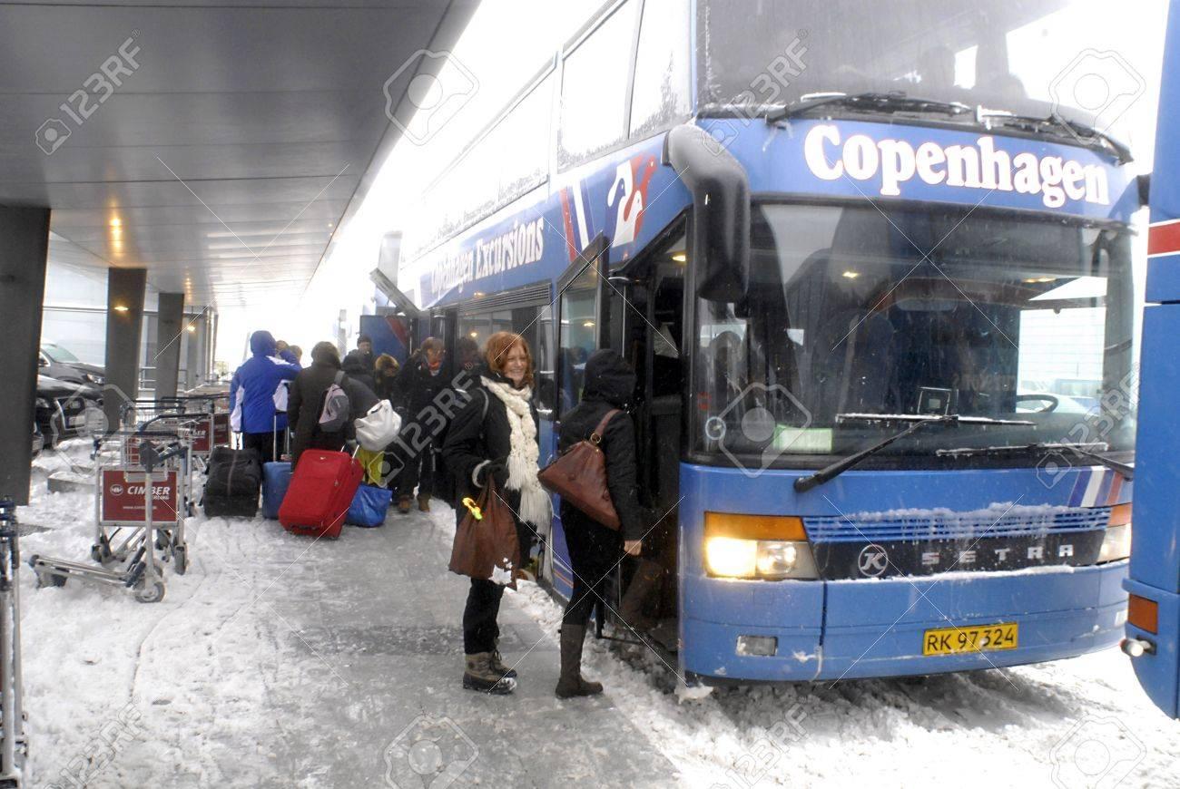 DENMARK / COPENHAGEN  DSB-Danish public transport system arranged