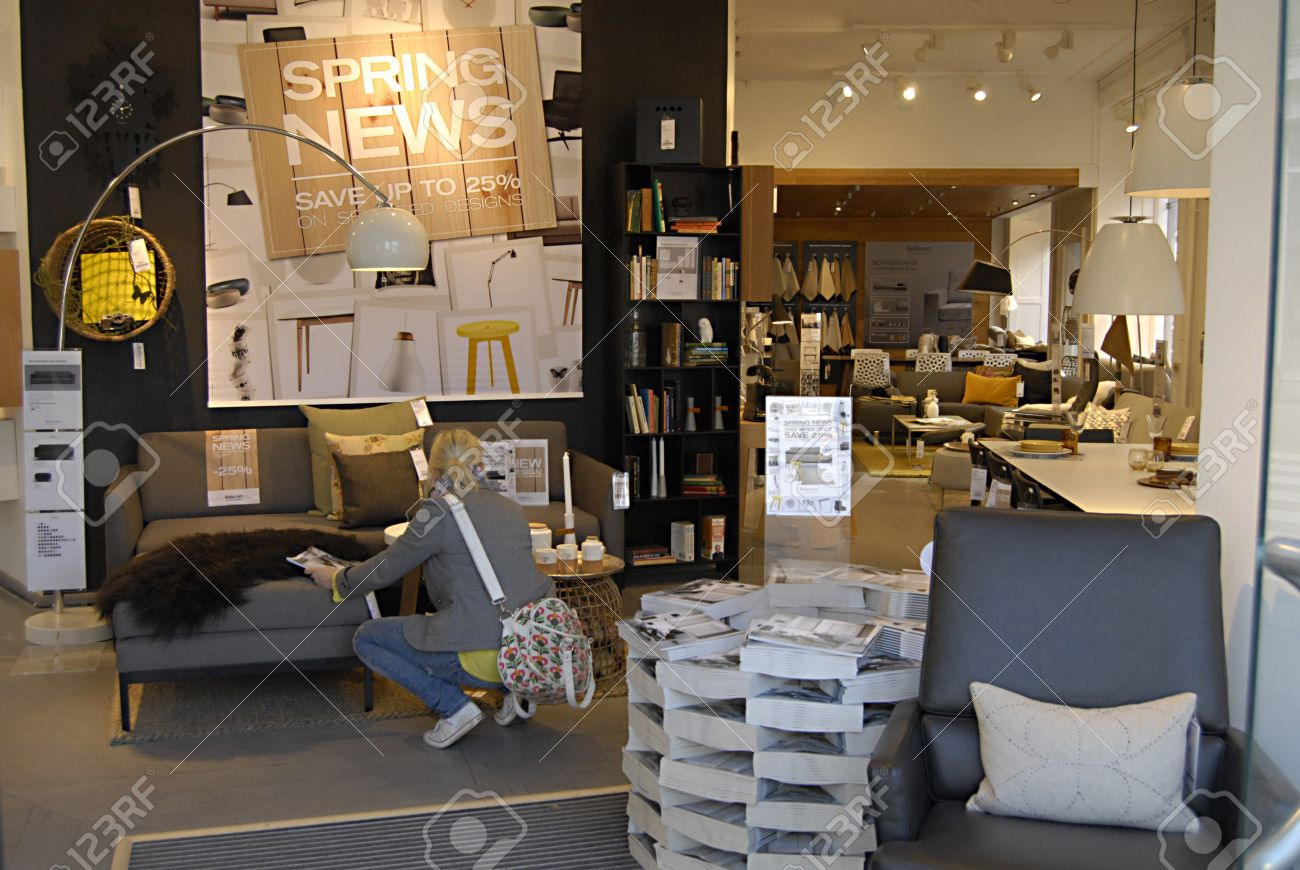 Cool Danish Bolia Furniture Store March Stock Photo With Danish Furniture  Store