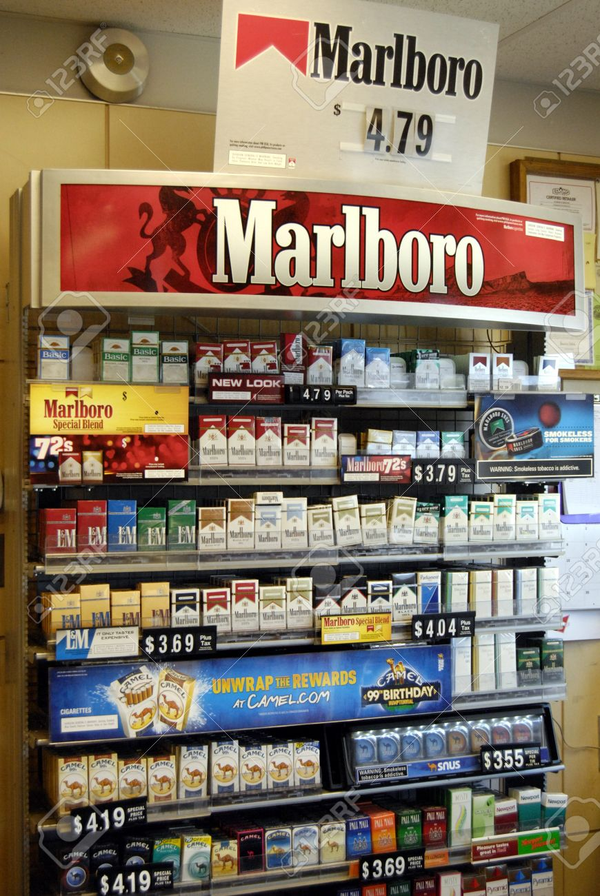 President cigarettes cost in UK