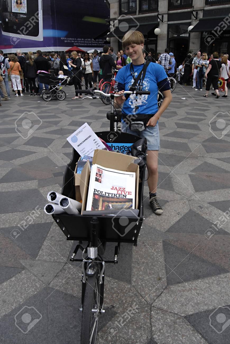 Copenhagen Danimarca Gite In Bicicletta Tre Ruote Femminili Per Promuovere Copenhagen Jazz Festival Letteratura 14 Luglio 2012