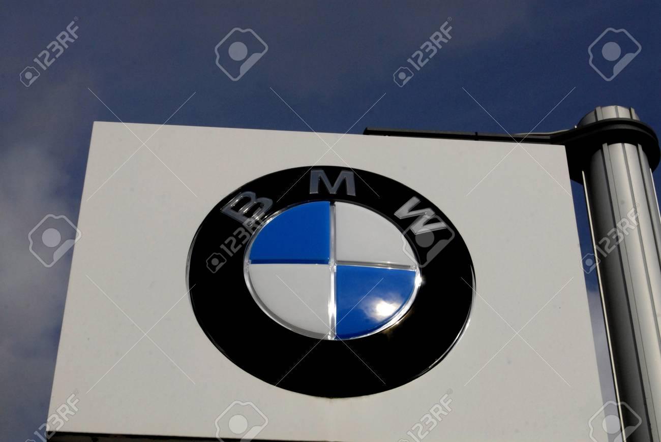 COPENHAGEN/DENMARK _ Germany BMW car dealer on amager kastrup englandsvej 7 Oct. 2012        Stock Photo - 15699245