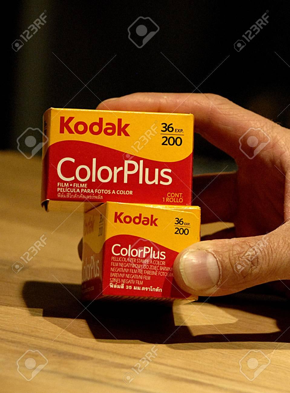Copenhagen / Denmark -Kodak film rolls still sells in photos