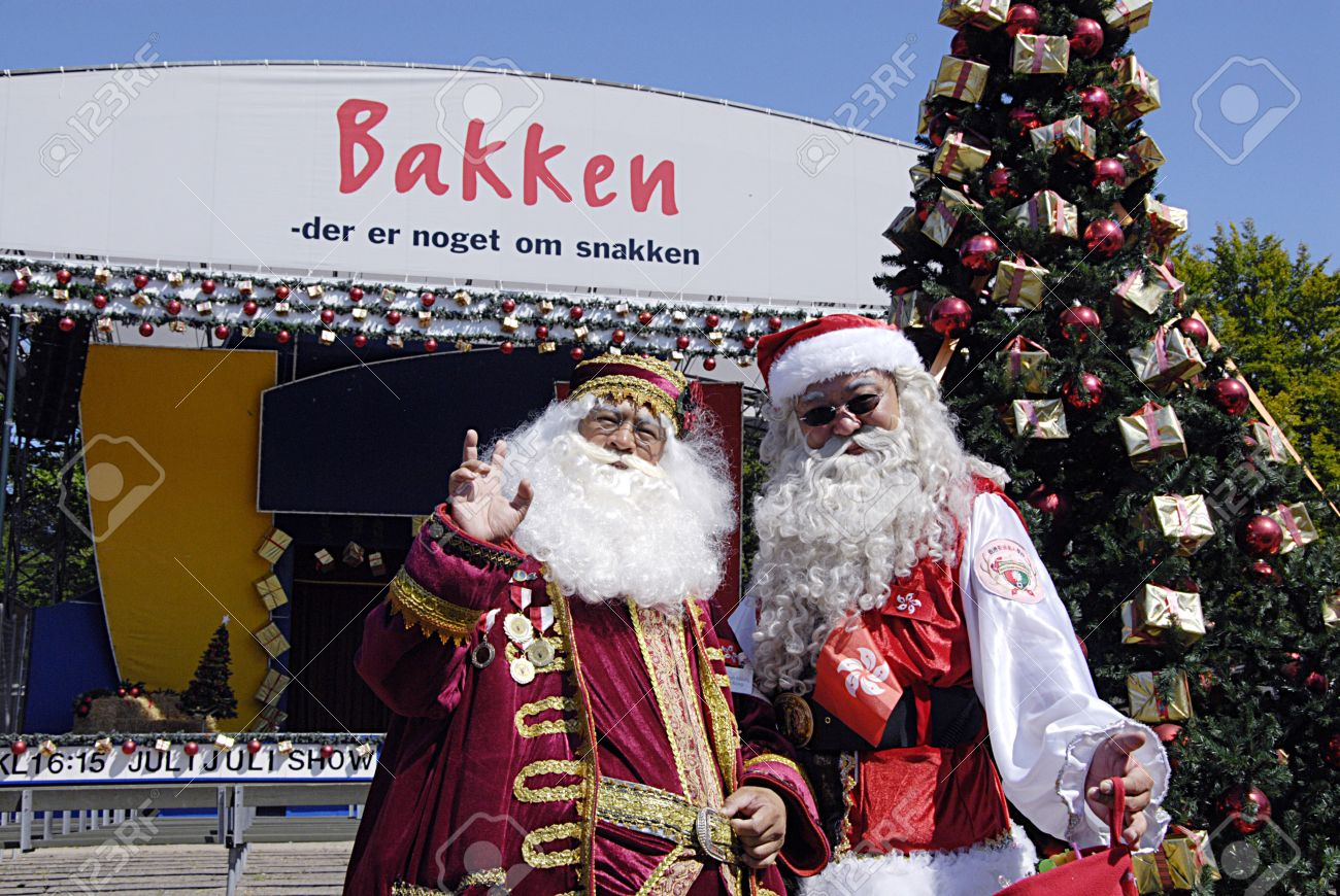 BAKKEN/COPENHAGEN /DENMARK-2nd Day For Santas Conference Santas ...