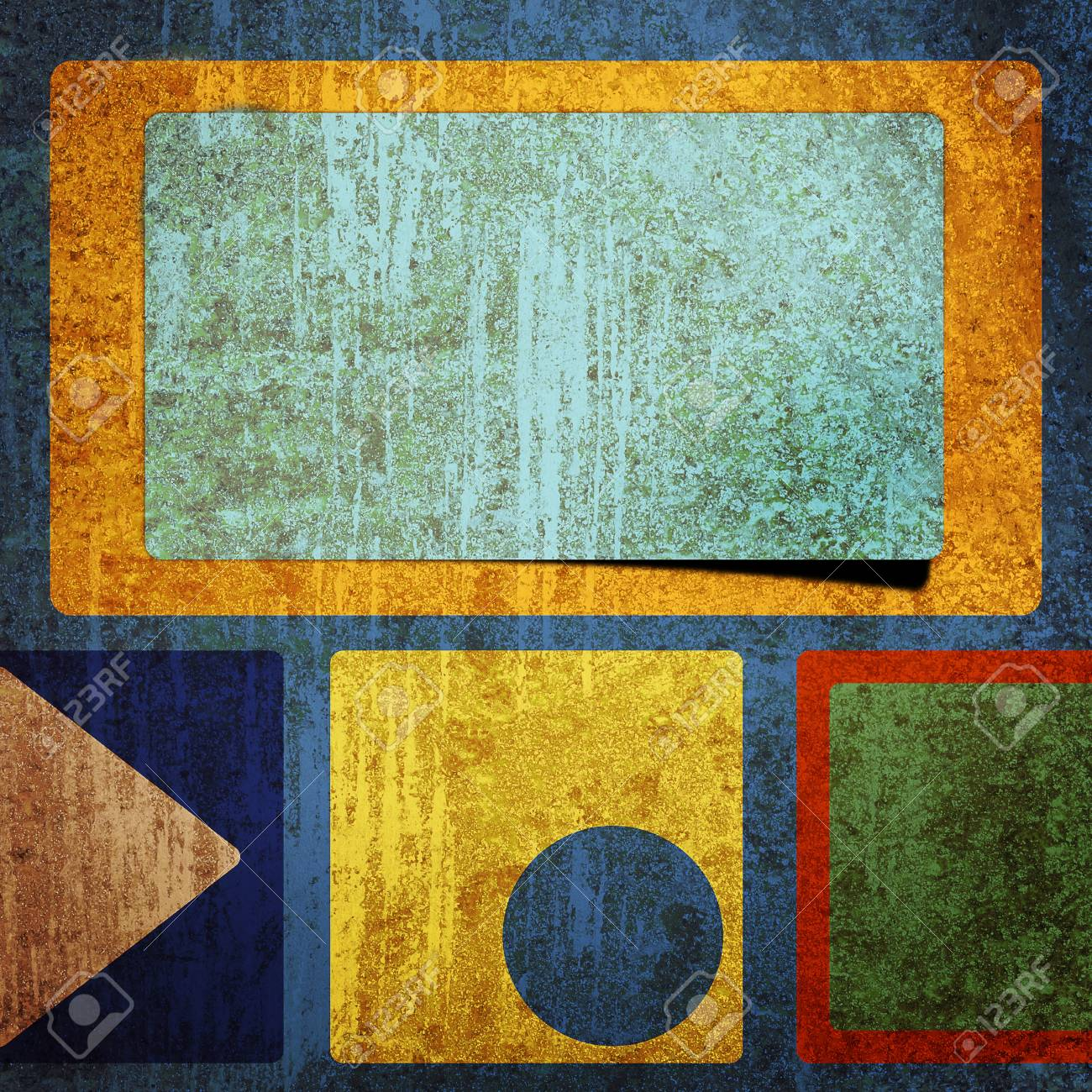 grunge retro vintage rusty old paper background Stock Photo - 9708660