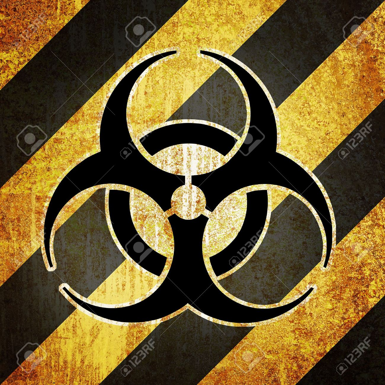 grunge retro vintage rusty old paper radiation nuke background Stock Photo - 9708593