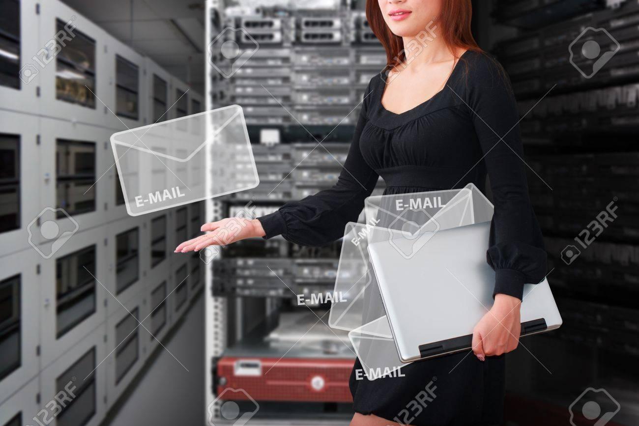Programmer got E-mail Stock Photo - 15112149