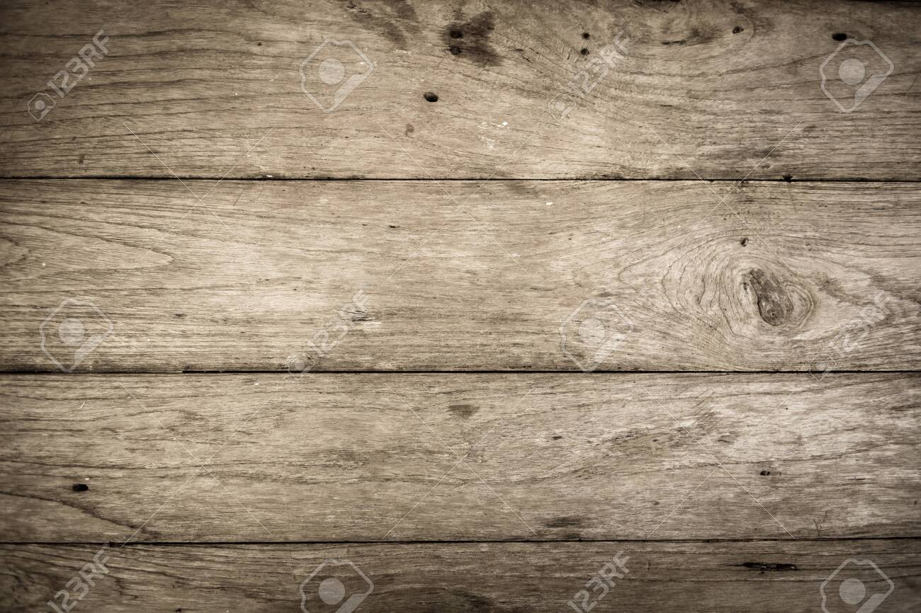old wood plank texture for background - 124145736