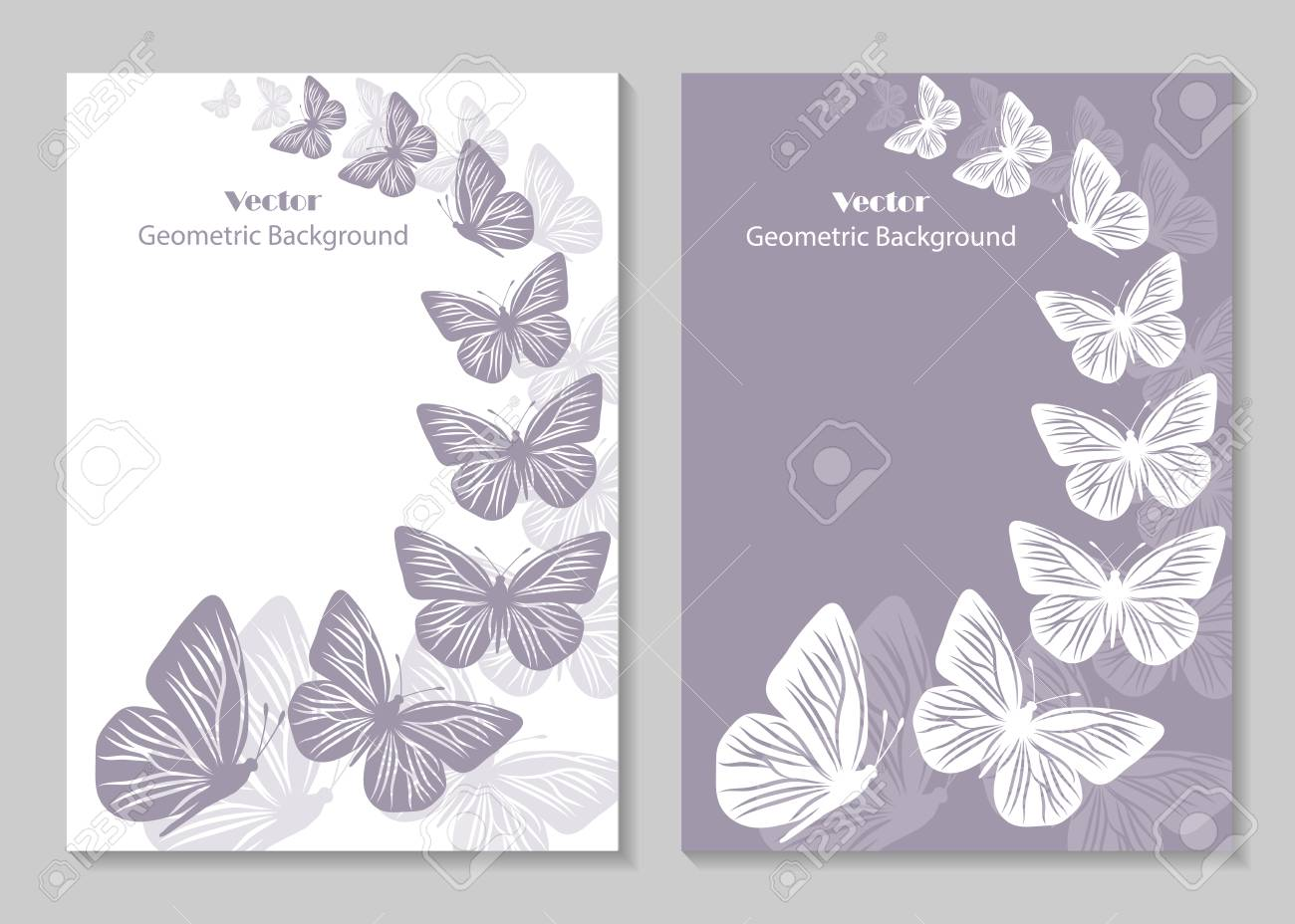 modern vector templates for brochure cover in a4 size. beautiful