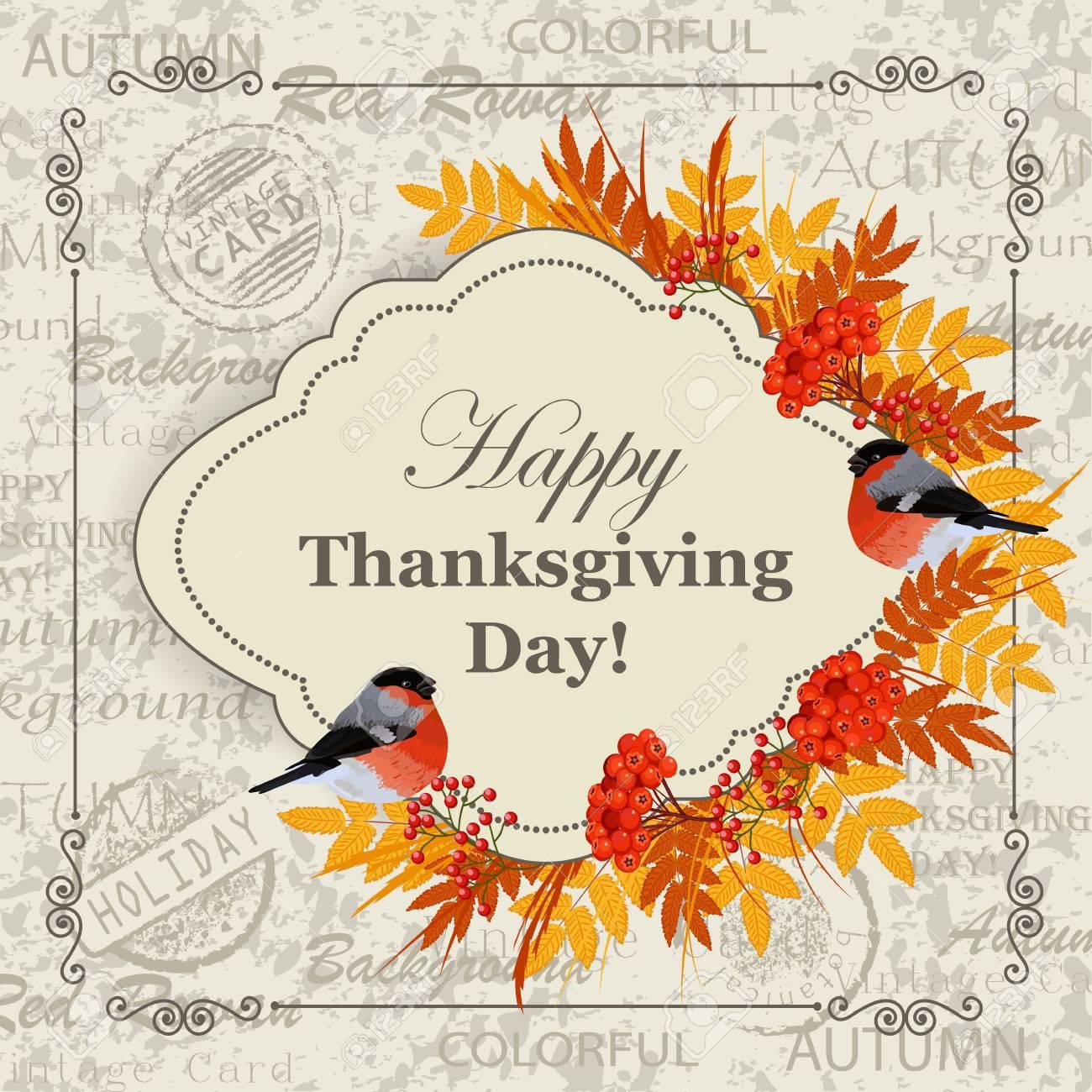 Buon Giorno Di Felicità Del Giorno Del Ringraziamento