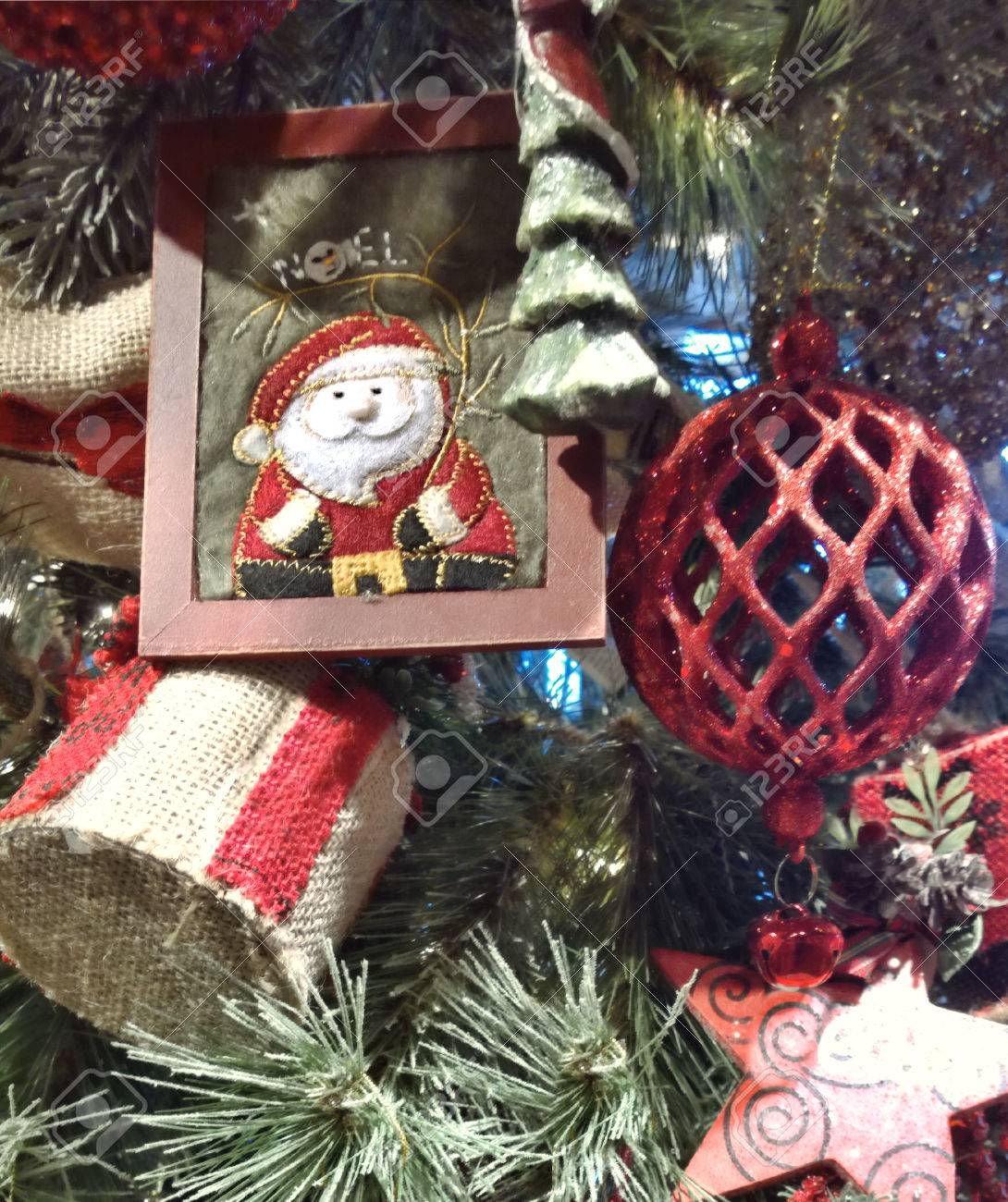 Vintage Old Fashioned Christmas Decorations