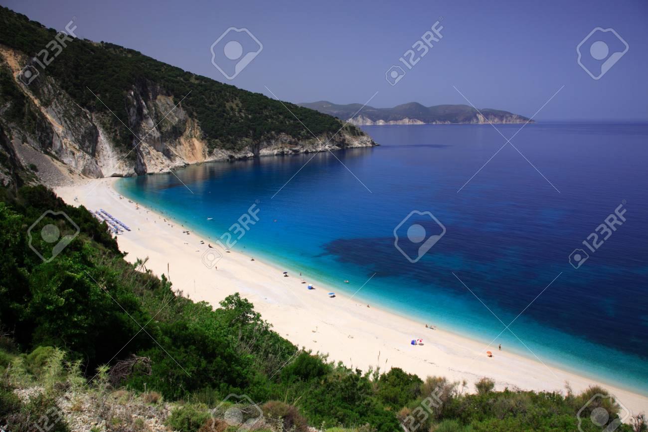 Myrtos beach Kefalonia Greece - 1686577