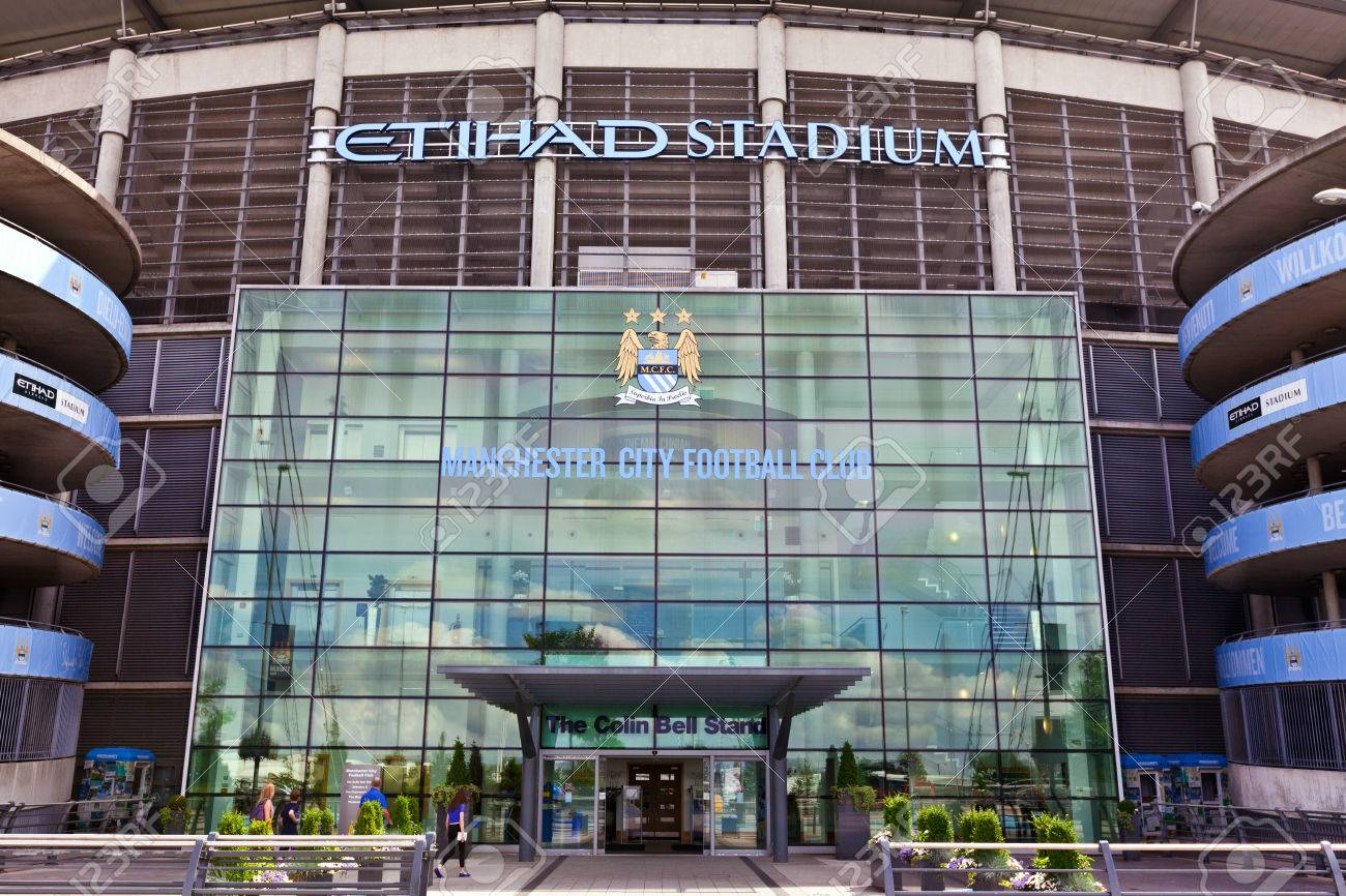 Etihad stadium is home to Manchester City English Premier League football club, one of the most successful clubs in England - 30551738