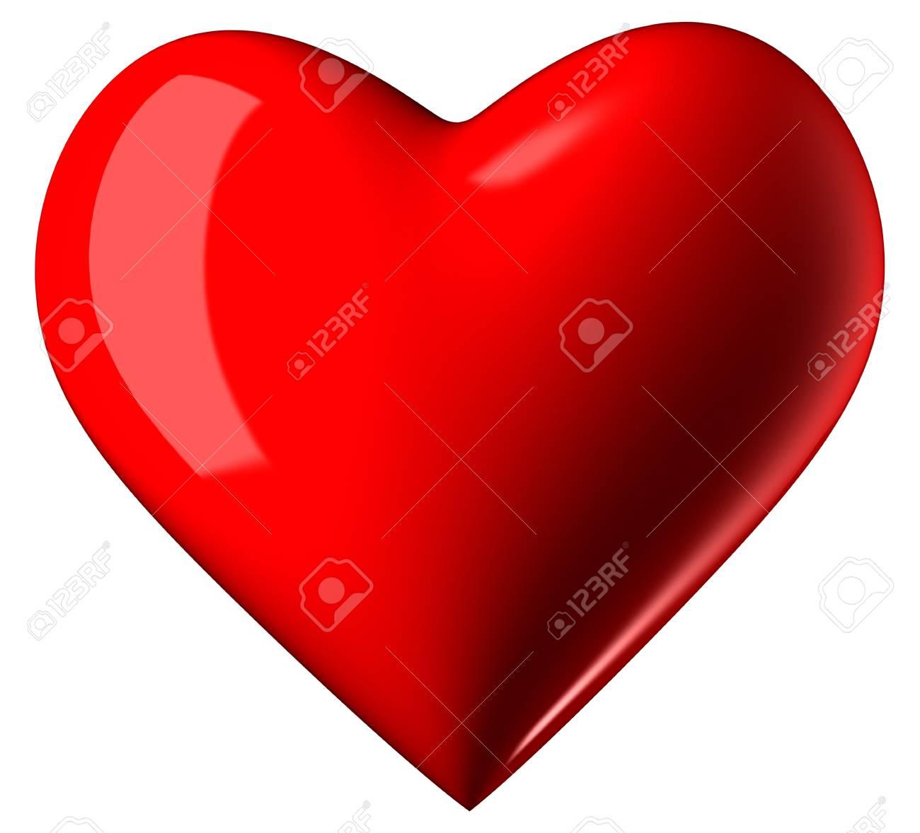 Valentine Heart - Symbol of Love Stock Photo - 20869694
