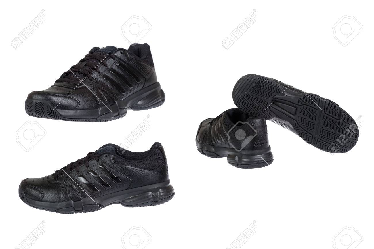 Shoes With Stripes VarnaBulgaria August Adidas 42014black YgvyI7bf6