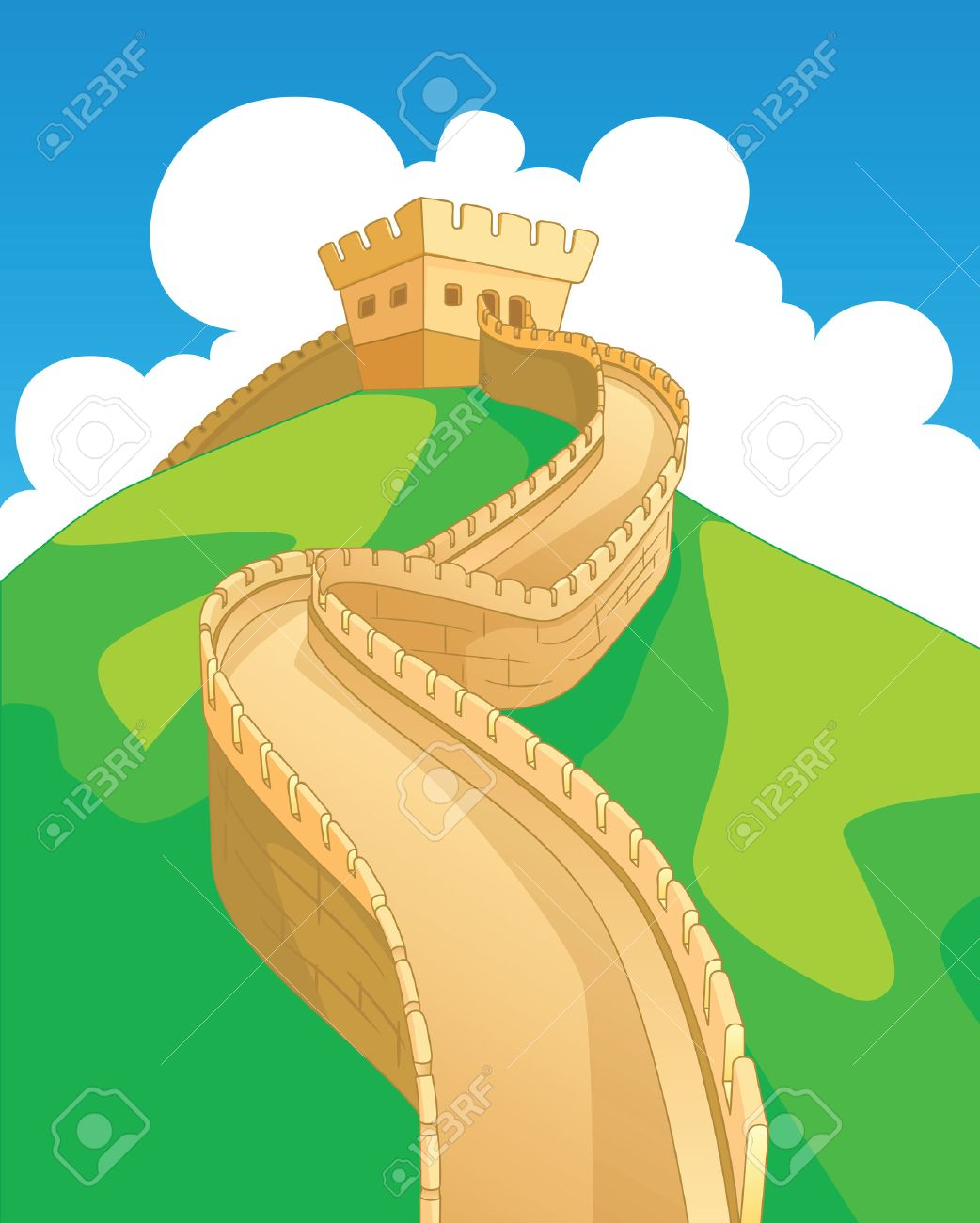 Modern Great Wall Of China Project Ideas Embellishment - The Wall ...