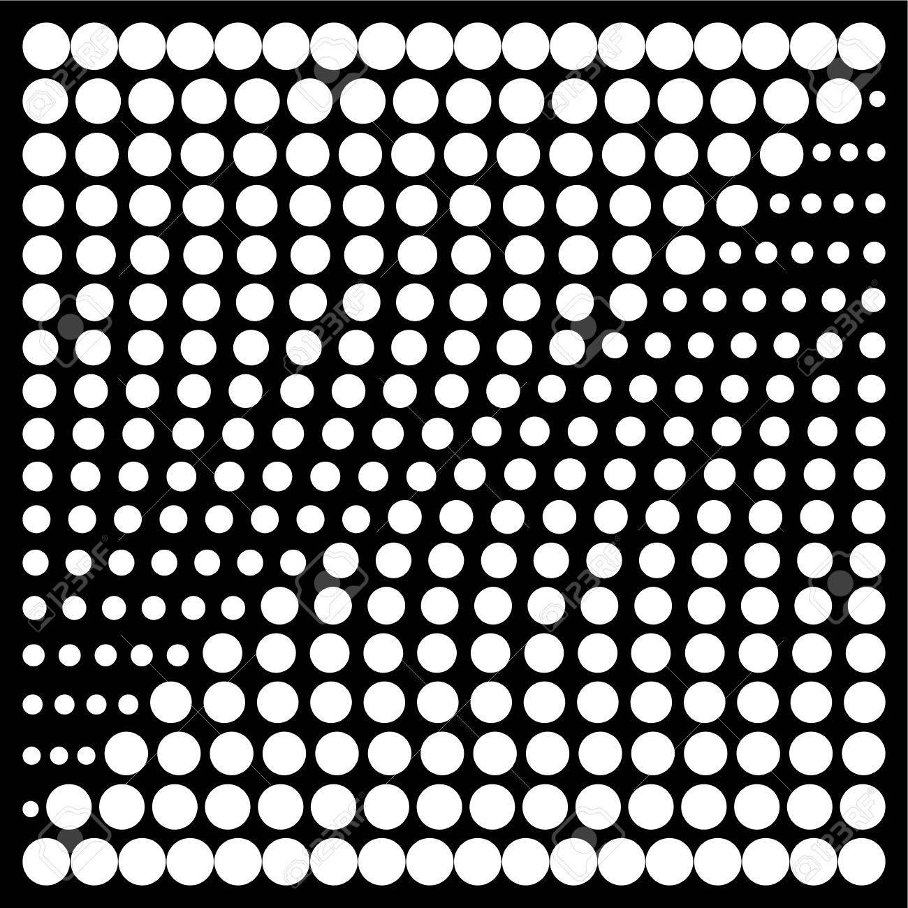 Halftone Design Elements Dot Pattern Dots Background Halftone