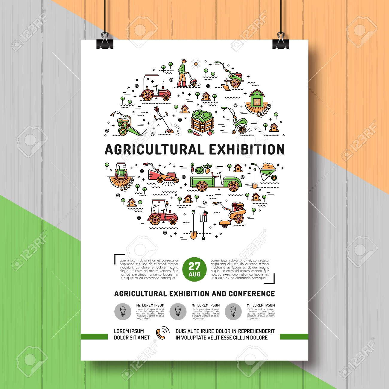 mockup flyer images stock pictures royalty mockup flyer mockup flyer agricultural exhibition design poster or card template mock up flyer