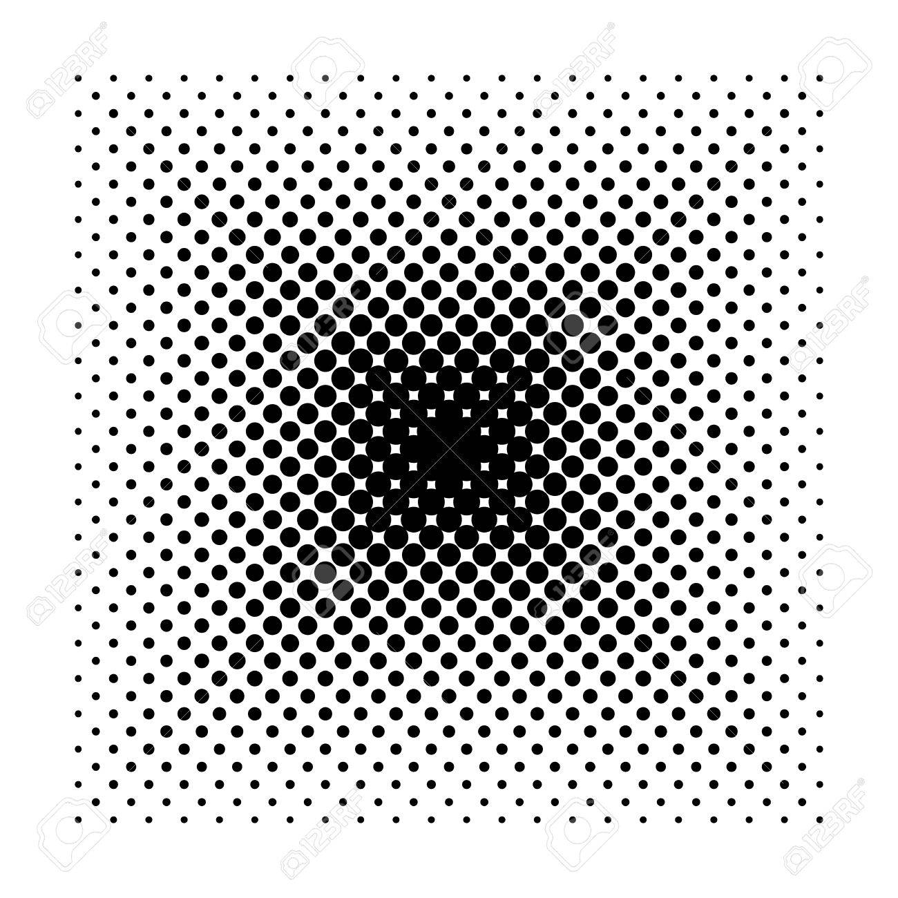 Vector Square Halftone Geometric Shapes Dot Minimal Design Abstract