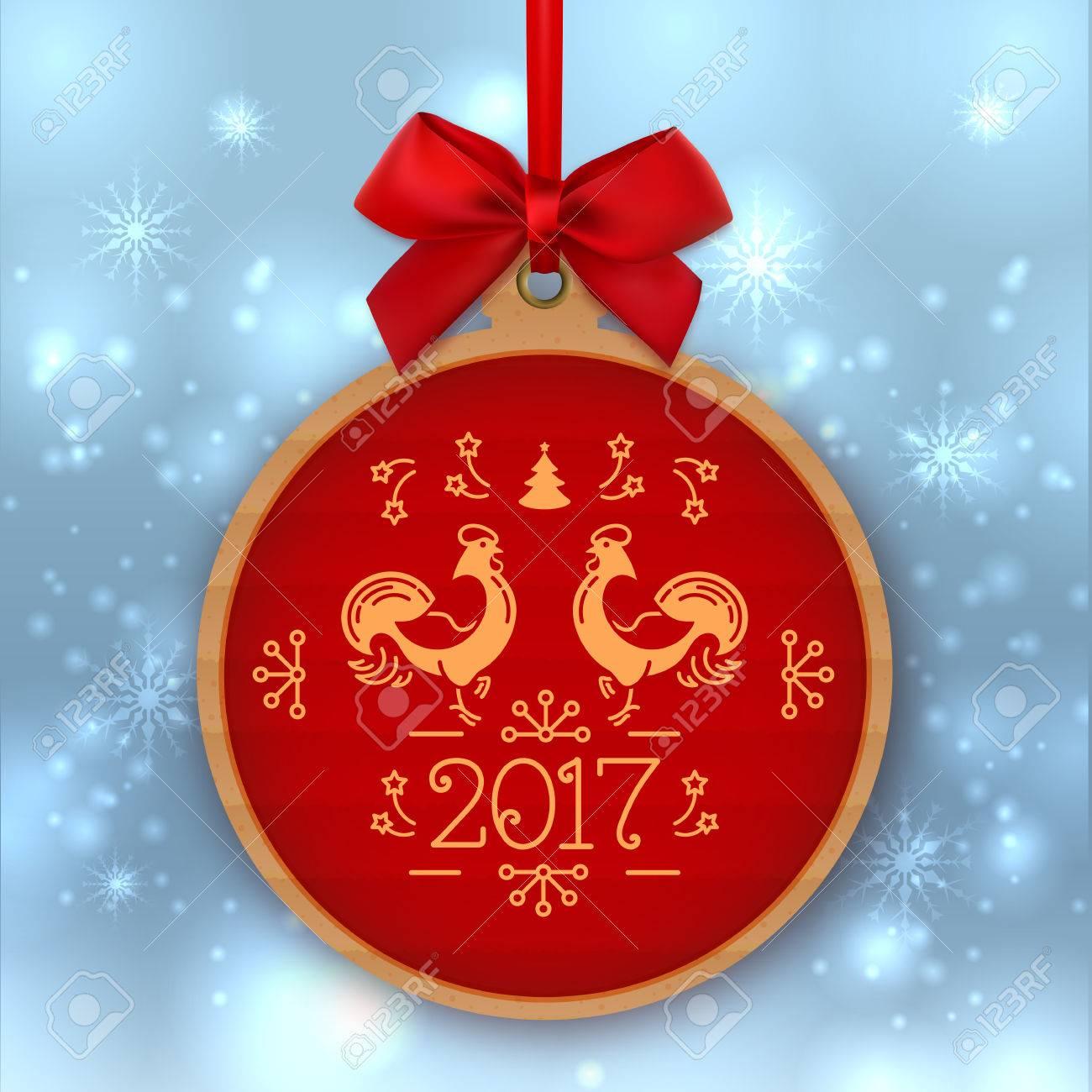 7ec51749d5a Bola De Navidad Feliz Año Nuevo 2017