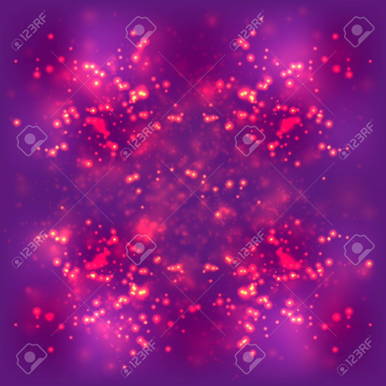 Abstract Light Background Blurred Bright Magenta Purple Space