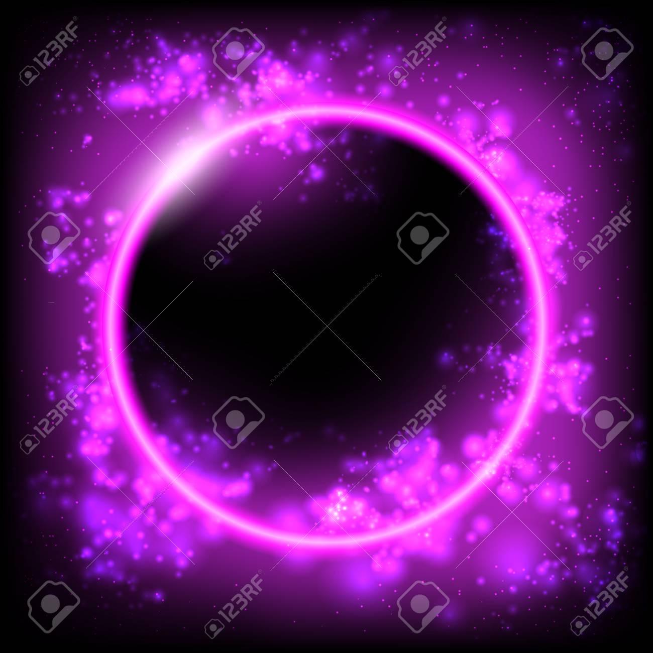 Space background  Planet, Black Hole, Solar eclipse  Futuristic