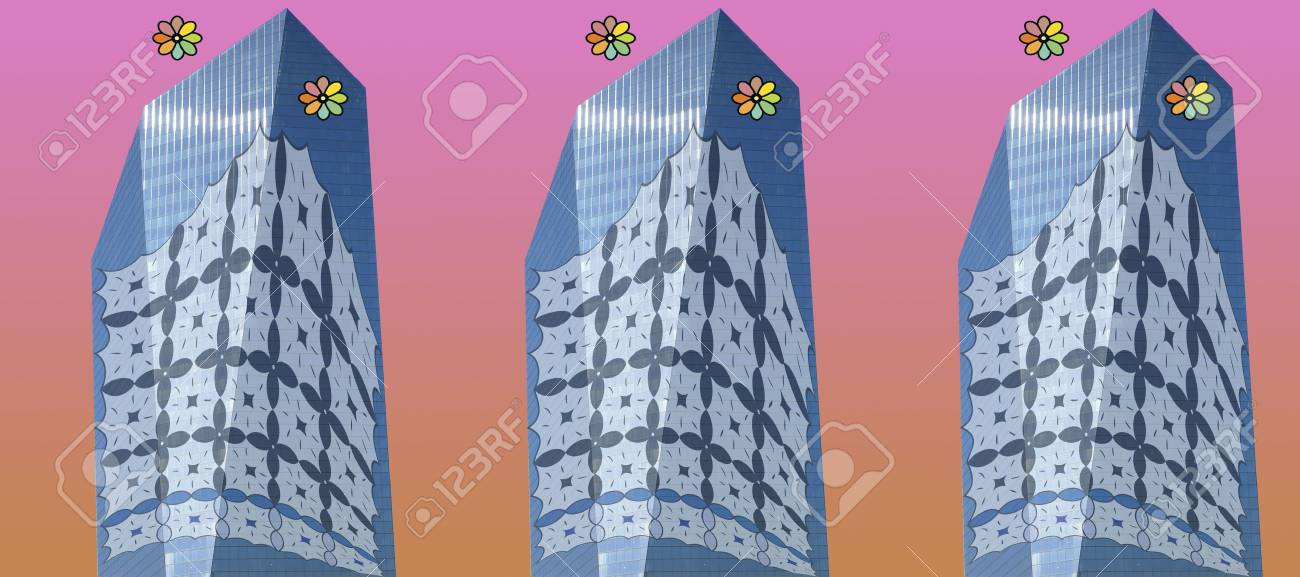 Office Tower Afghan Stock Photo - 4112521
