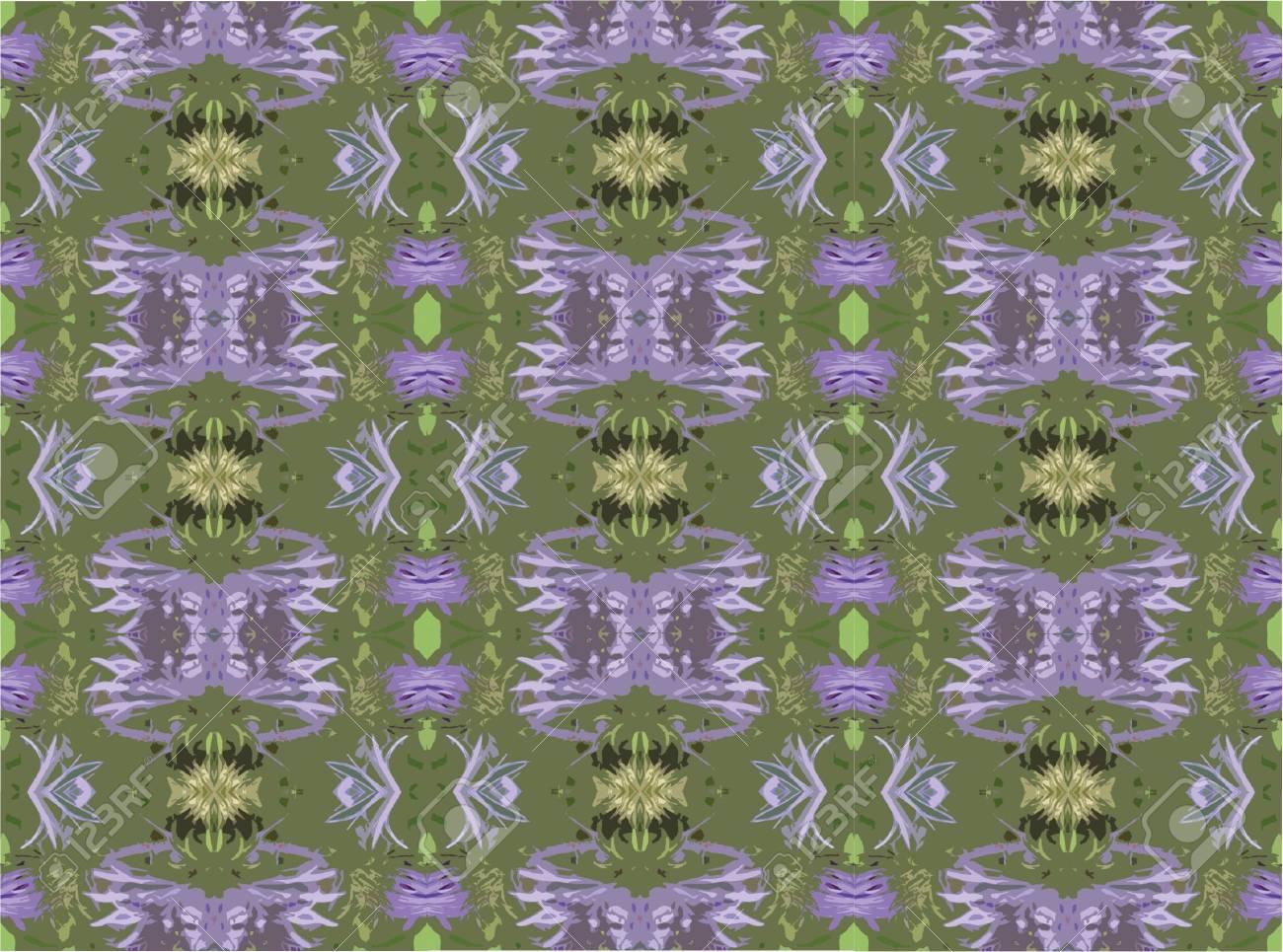 Pattern: Cloversplash 2 Stock Photo - 4112520