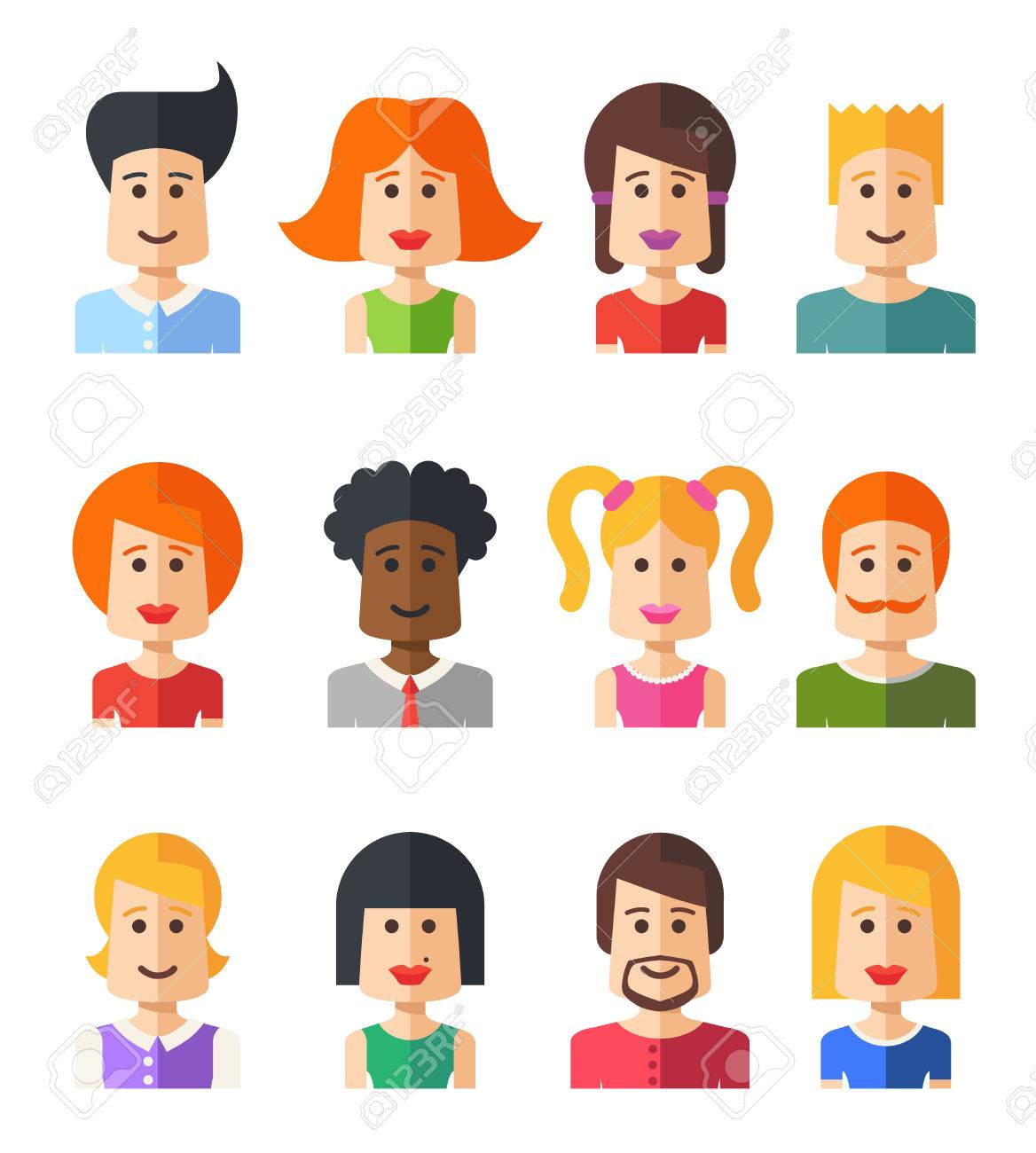 Download People Flat Design