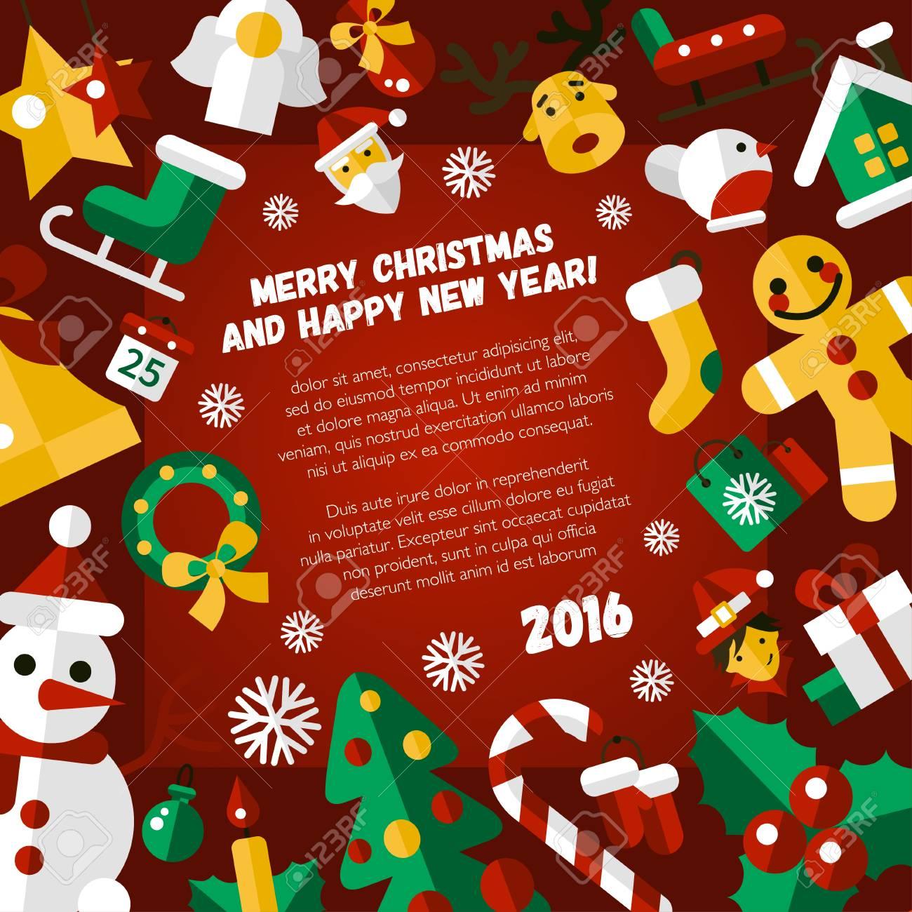 Asombroso Plantilla De Word De Invitación De Navidad Fotos - Ejemplo ...