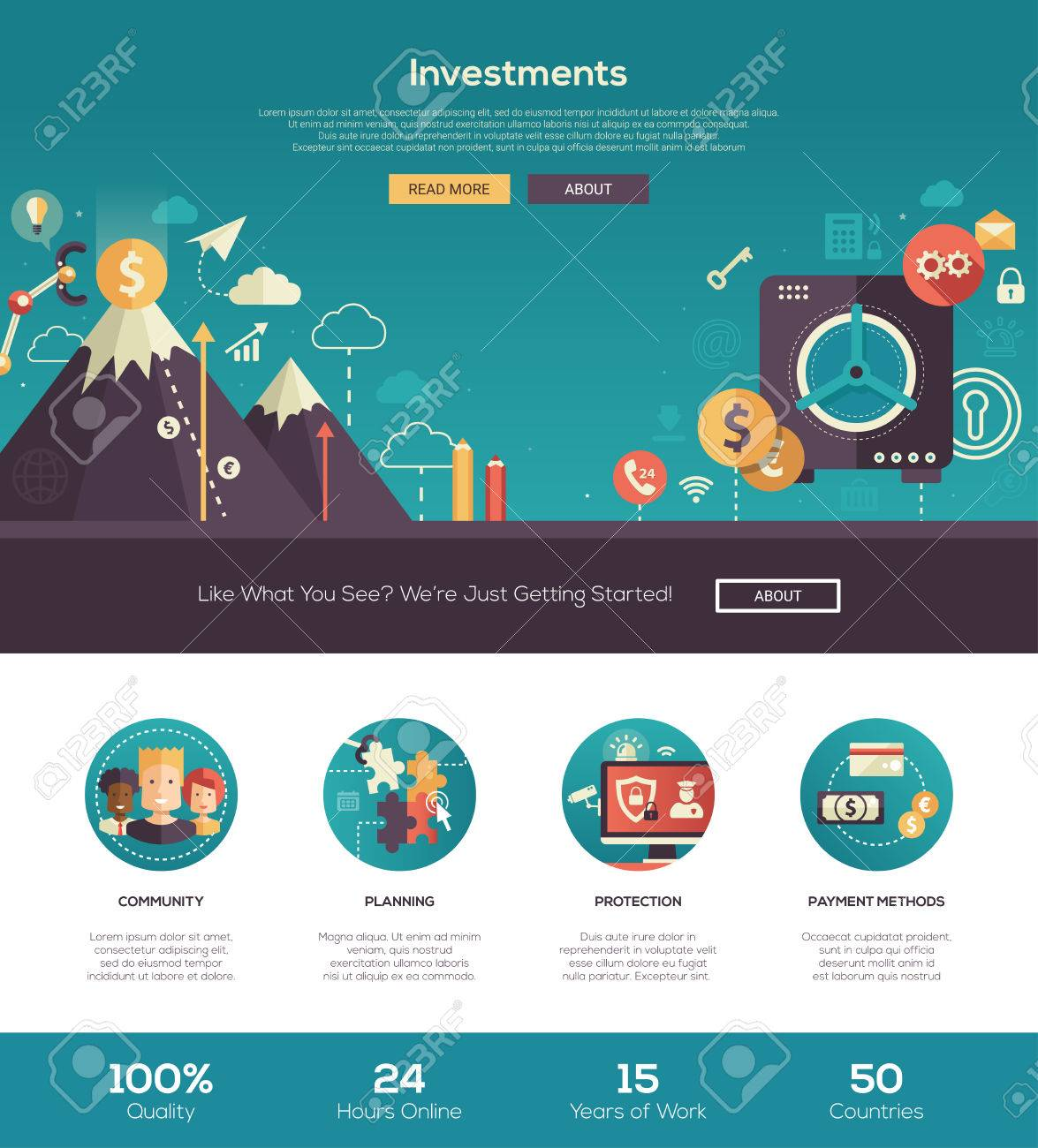 investments and savings business start up finance web site one