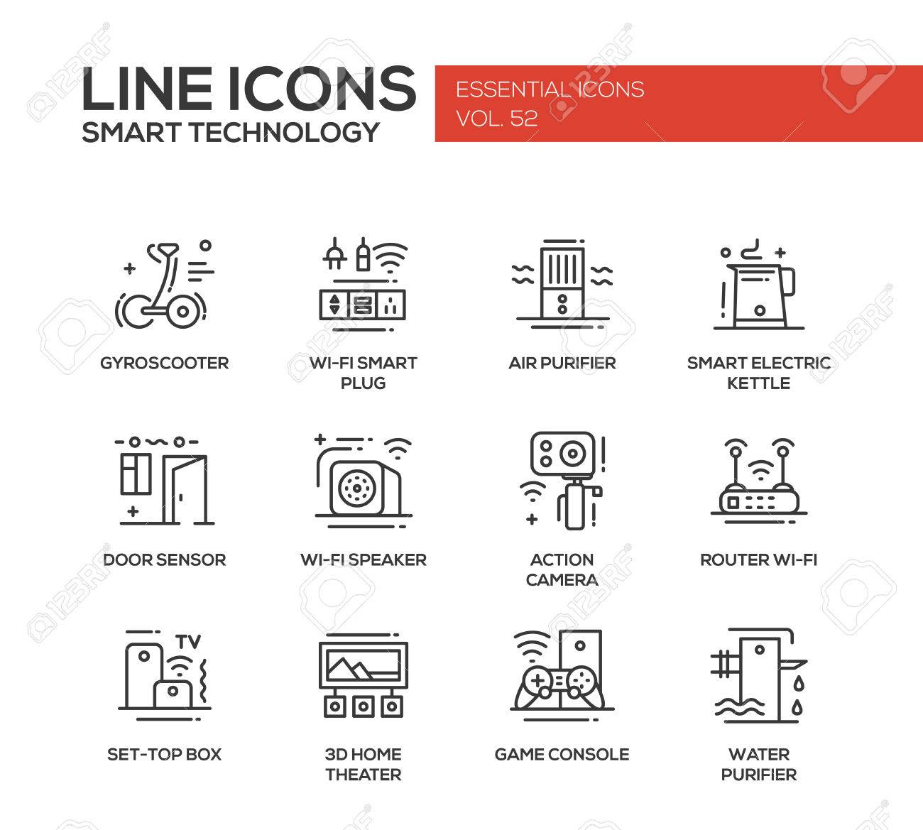 Appliance wiring diagram symbols refrigeration wiring diagram smart technology modern vector plain line design icons and rh 123rf com architectural symbols for electricians appliance wiring diagram asfbconference2016 Choice Image
