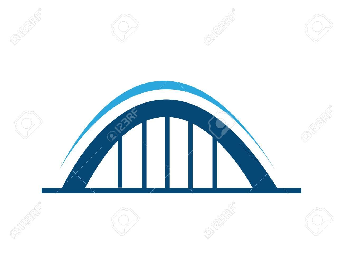 Bridge Template vector icon illustration design - 134275149