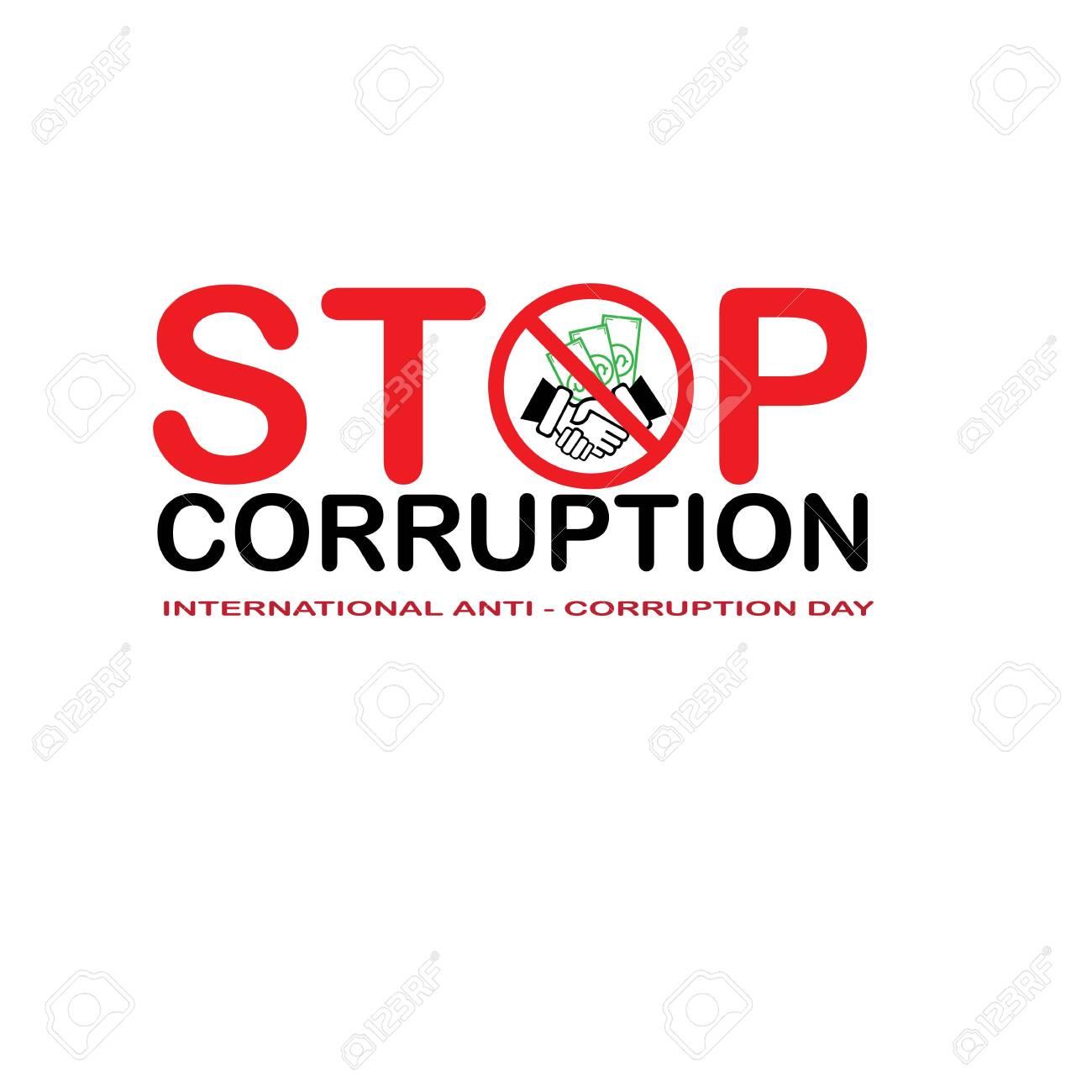 Stop Corruption and International Anti-Corruption Day - 137160138