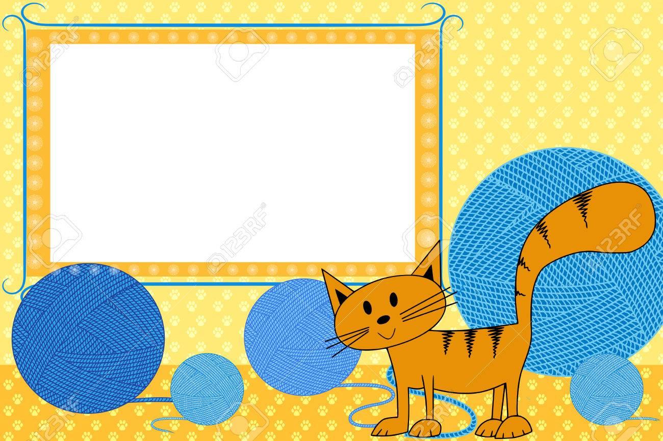 Libro De Recuerdos Del Cabrito Con El Gato - Marcos De Fotos Para ...