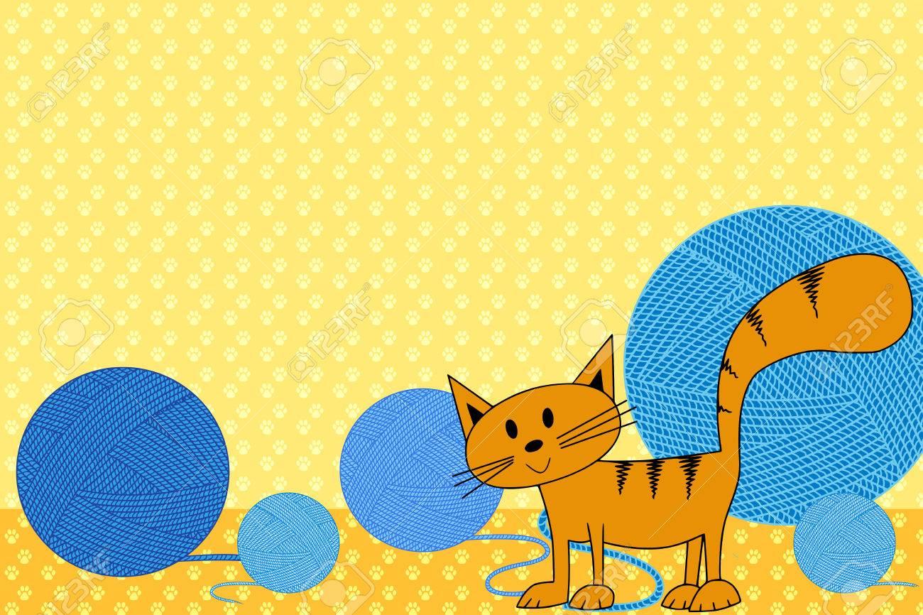 Kid Scrapbook Mit Katze - Bilderrahmen Für Kinder Lizenzfreie Fotos ...