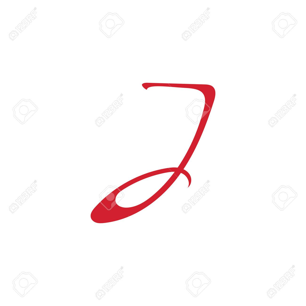 Letter J Template vector icon design - 166652552