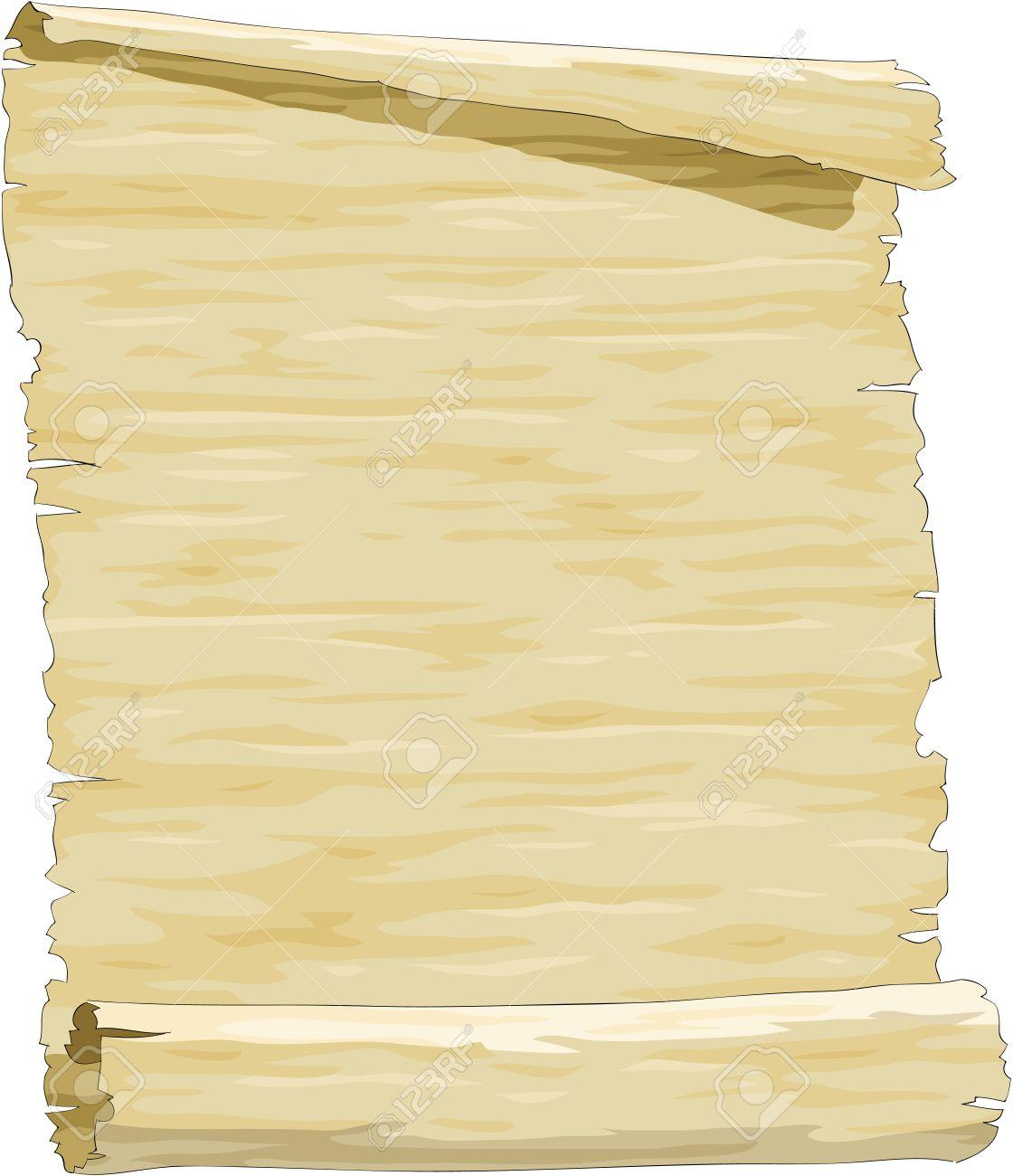 Old Cartoon Paper