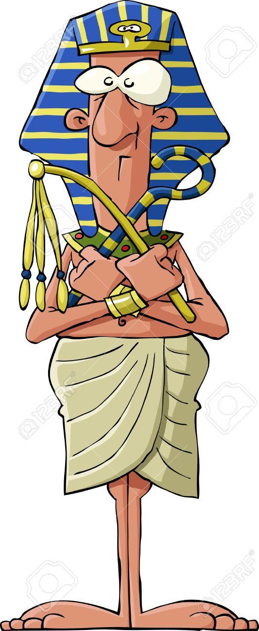 Pharaoh on a white background, vector illustration Stock Vector - 9931707