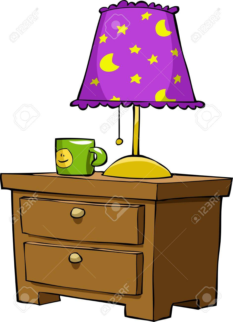 Nightstands on a white background, vector illustration Stock Vector - 12356601