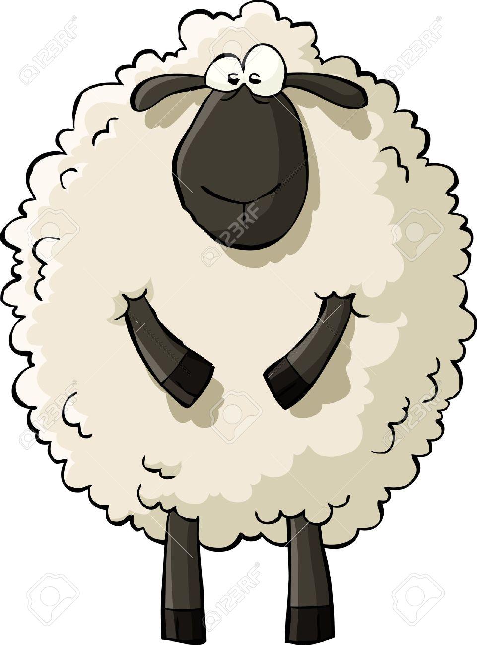 15,766 Sheep Cartoon Stock Vector Illustration And Royalty Free ...