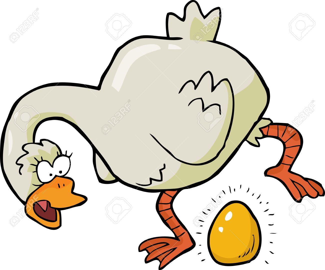 Image result for golden egg cartoon