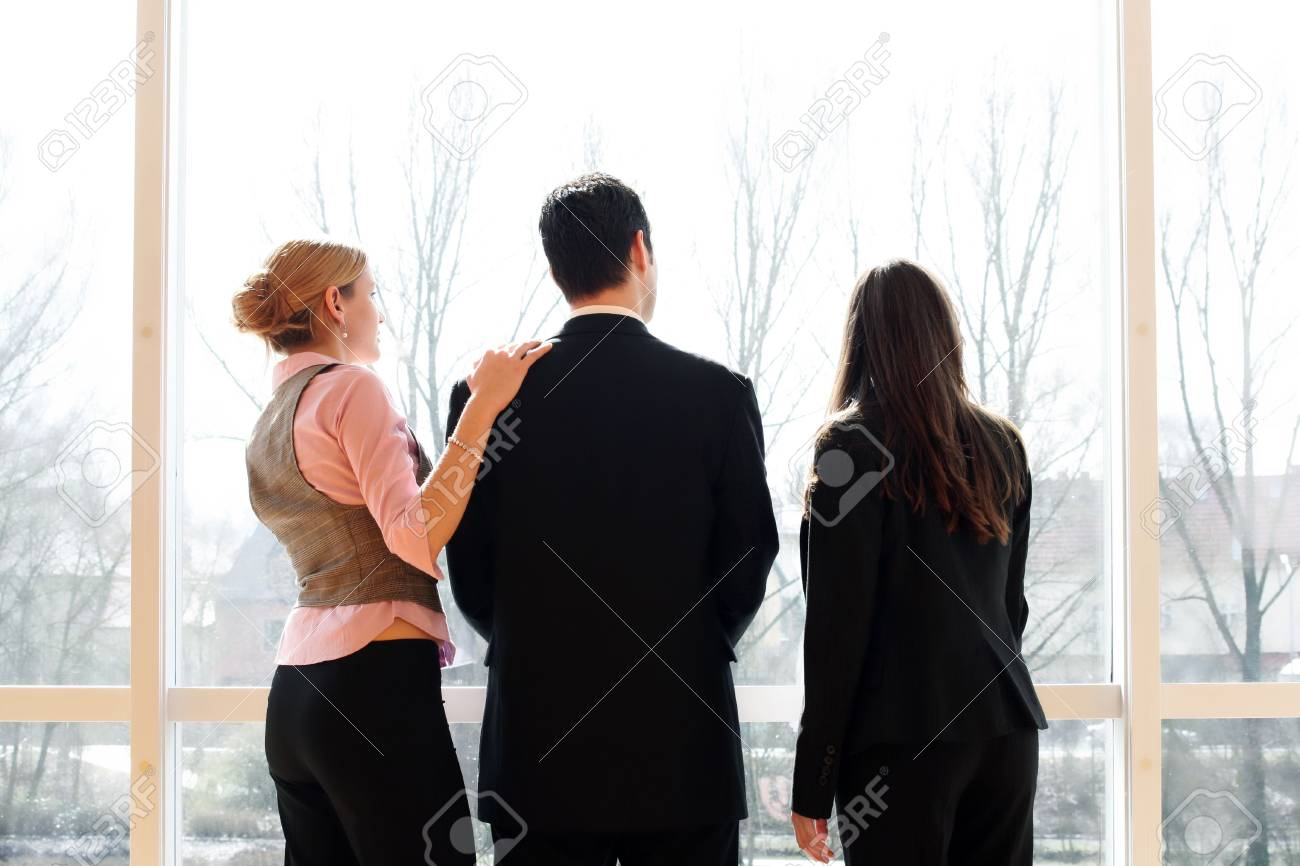 three young successful businesspeople Stock Photo - 5064721