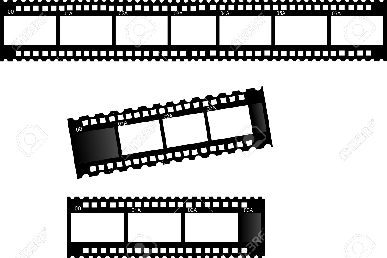 3 Film Strips- Film Strip Frames... Royalty Free Cliparts, Vectors ...