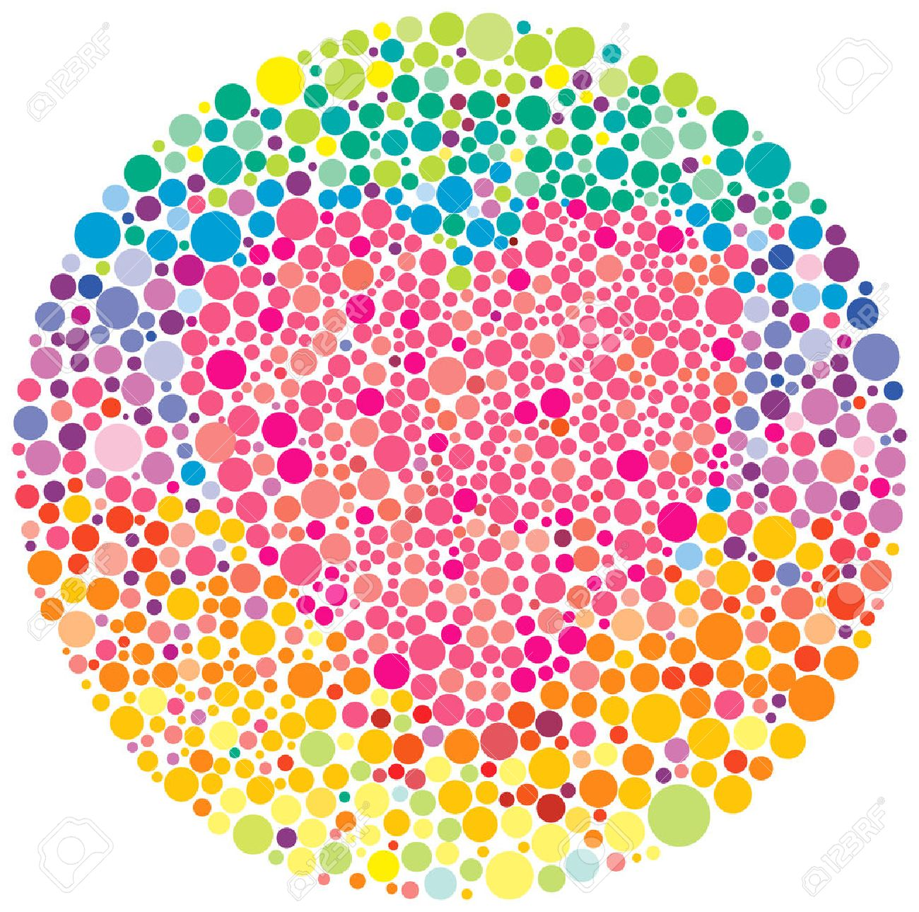 color blindness test royalty free cliparts vectors and stock